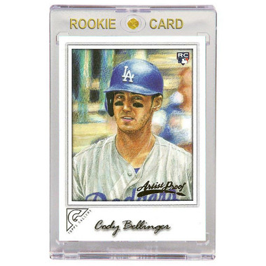 Cody Bellinger Los Angeles Dodgers 2017 Topps Gallery # 14 Rookie Card