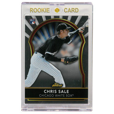 Chris Sale Chicago White Sox 2011 Topps Finest # 80 Rookie Card
