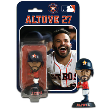 Jose Altuve Houston Astros 4 Inch Mini Bobble Head