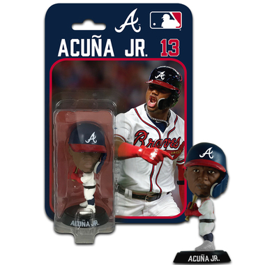 Ronald Acuna Atlanta Braves 4 Inch Mini Bobble Head