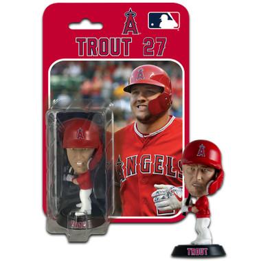 Mike Trout Los Angeles Angels 4 Inch Mini Bobble Head