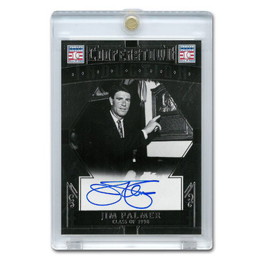 Jim Palmer Autographed Card 2015 Panini Cooperstown # 23