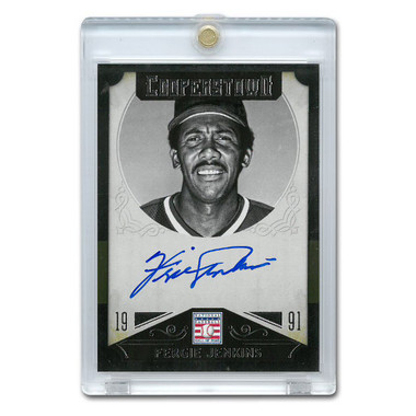 Fergie Jenkins Autographed Card 2015 Panini Cooperstown # 17
