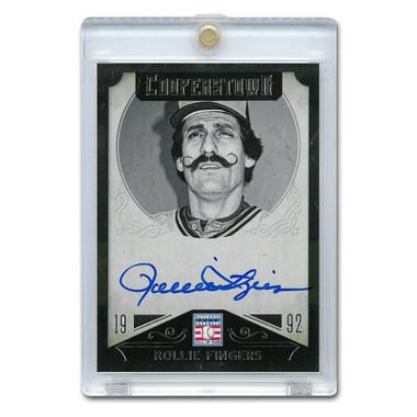 Rollie Fingers Autographed Card 2015 Panini Cooperstown # 41