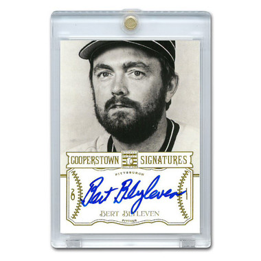 Bert Blyleven Autographed Card 2013 Panini Cooperstown Signatures Ltd Ed 591