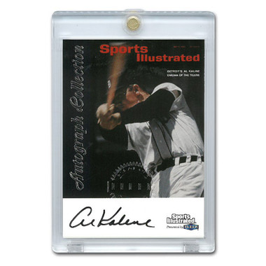Al Kaline Autographed Card 1999 Fleer Sports Illustrated Greats