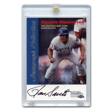 Ron Santo Autographed Card 1999 Fleer Sports Illustrated Greats