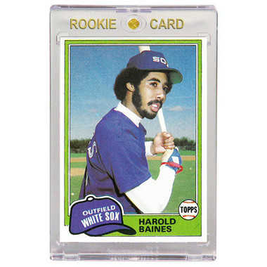 Harold Baines Chicago White Sox 1981 Topps # 347 Rookie Card