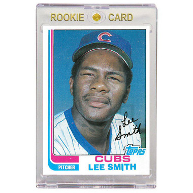 Lee Smith Chicago Cubs 1982 Topps # 452 Rookie Card