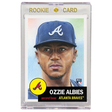 Ozzie Albies Atlanta Braves 2018 Topps Living Set # 32 Rookie Card
