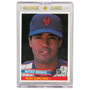 Ron Darling New York Mets 1984 Donruss # 30 Rookie Card