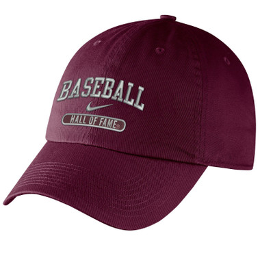 Men's Nike Baseball Hall of Fame Navy Campus Maroon Bullet Adjustable Cap