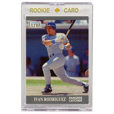 Ivan Rodriguez Texas Rangers 1991 Fleer Ultra Update # 101T Rookie Card