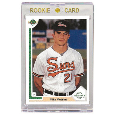 Mike Mussina Baltimore Orioles 1991 Upper Deck # 65 Rookie Card