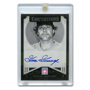 Goose Gossage Autographed Card 2015 Panini Cooperstown # 20