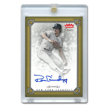 Ron Guidry Autographed Card 2004 Fleer Greats of the Game