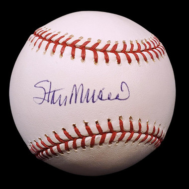 Stan Musial Autographed Rawlings OML Baseball (Steiner)