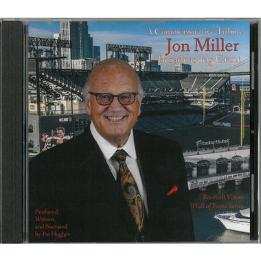 Baseball Voices: Jon Miller, Broadcasting Giant Audio CD