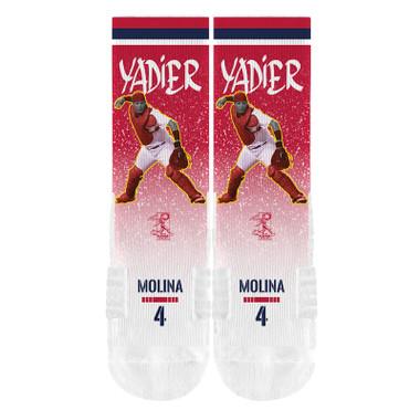 Strideline Yadier Mollina Full Image Premium Crew Socks
