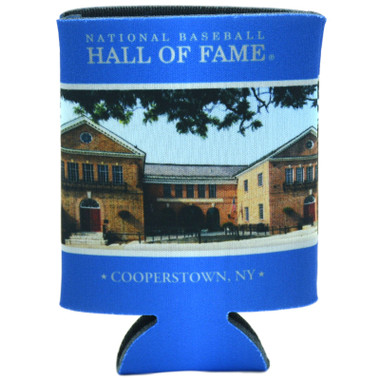 Baseball Hall of Fame 12 oz. Building Can Cooler