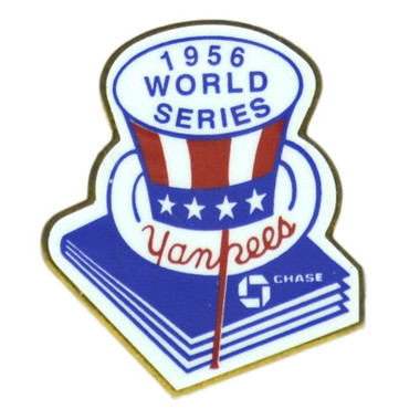 New York Yankees 1956 World Series Champions Logo Stadium Chase Pin