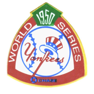 New York Yankees 1950 World Series Champions Logo Stadium Chase Pin