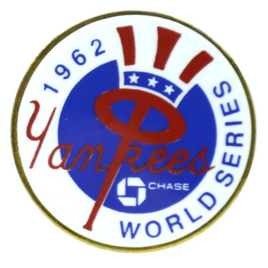 New York Yankees 1962 World Series Champions Logo Stadium Chase Pin