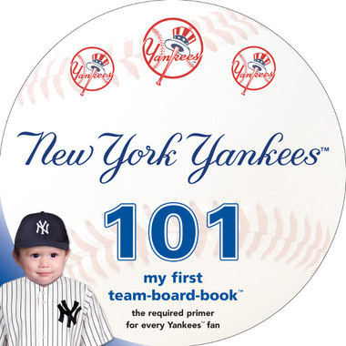 New York Yankees 101 Baby Board Book