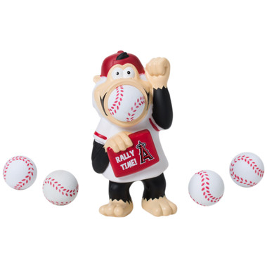 Hog Wild MLB Los Angeles Angels Monkey Squeeze Popper
