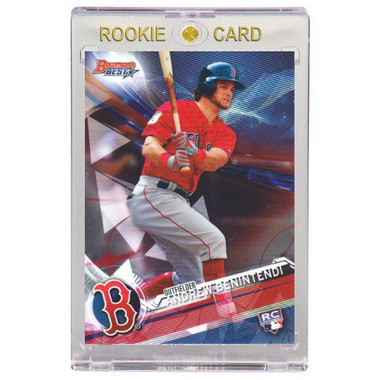 Andrew Benintendi Boston Red Sox 2017 Bowman's Best # 14 Rookie Card