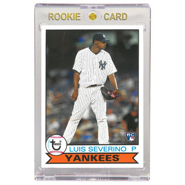 Luis Severino New York Yankees 2016 Topps Archives # 123 Rookie Card