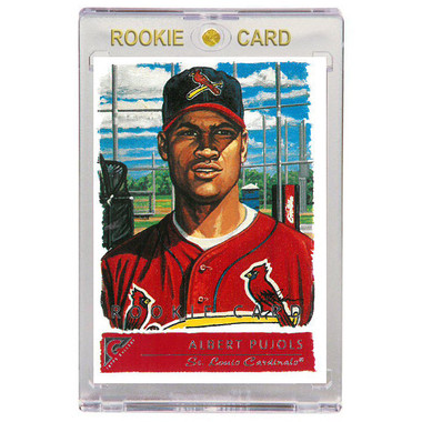 Albert Pujols St. Louis Cardinals 2001 Topps Gallery # 135 Rookie Card