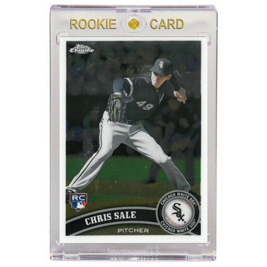 Chris Sale Chicago White Sox 2011 Topps Chrome # 205 Rookie Card