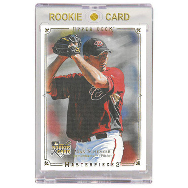 Max Scherzer Arizona Diamondbacks 2008 Upper Deck Masterpiece # 5 Rookie Card