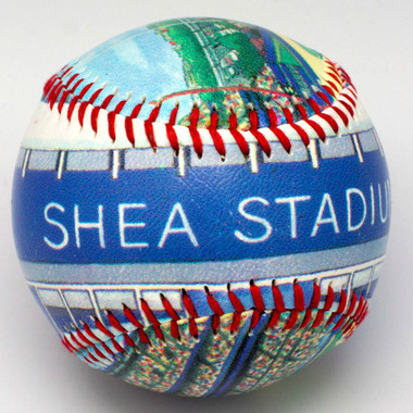 Shea Stadium Unforgettaballs Limited Commemorative Baseball with Lucite Gift Box