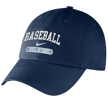 Women's Nike Baseball Hall of Fame Navy Campus Adjustable Cap