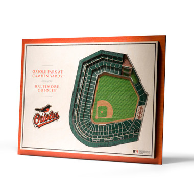 Baltimore Orioles 5 Layer 17 x 13 StadiumViews 3D Wall Art