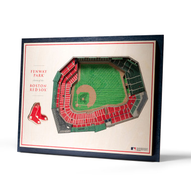 Boston Red Sox 5 Layer 17 x 13 StadiumViews 3D Wall Art