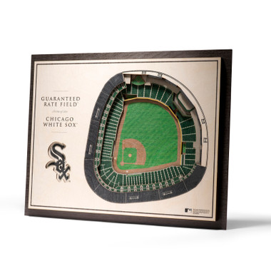 Chicago White Sox 5 Layer 17 x 13 StadiumViews 3D Wall Art