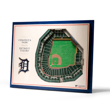 Detroit Tigers 5 Layer 17 x 13 StadiumViews 3D Wall Art