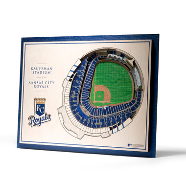Kansas City Royals 5 Layer 17 x 13 StadiumViews 3D Wall Art