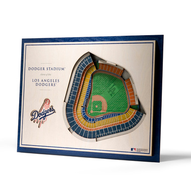 Los Angeles Dodgers 5 Layer 17 x 13 StadiumViews 3D Wall Art