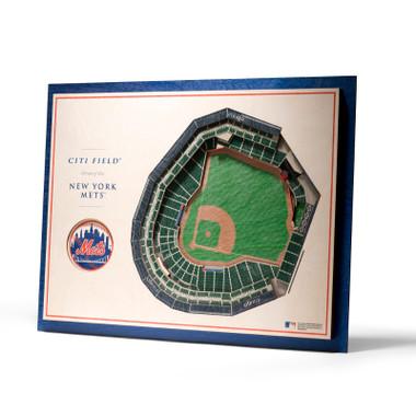 New York Mets 5 Layer 17 x 13 StadiumViews 3D Wall Art