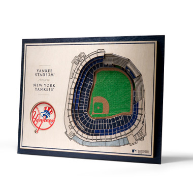 New York Yankees 5 Layer 17 x 13 StadiumViews 3D Wall Art