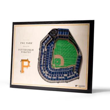 Pittsburgh Pirates 5 Layer 17 x 13 StadiumViews 3D Wall Art