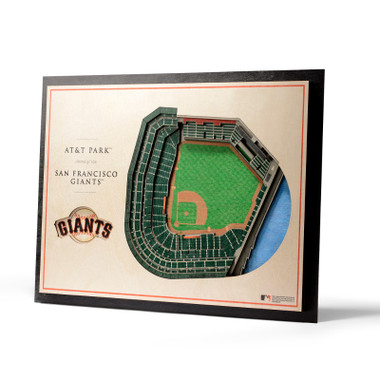 San Francisco Giants 5 Layer 17 x 13 StadiumViews 3D Wall Art