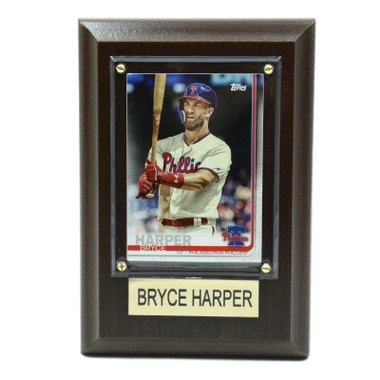 "Bryce Harper Philadelphia Phillies 4"" x 6"" Baseball Card Plaque"