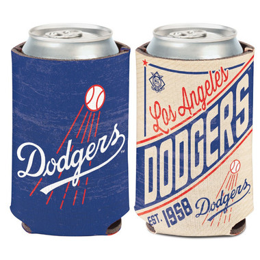 Los Angeles Dodgers Cooperstown Can Cooler