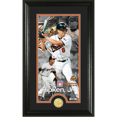 Highland Mint Cal Ripken Jr. Baltimore Orioles Supreme Bronze Coin Photo Mint