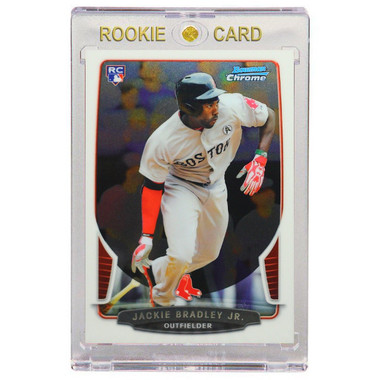 Jackie Bradley Jr. Boston Red Sox 2013 Bowman Chrome # 89 Rookie Card